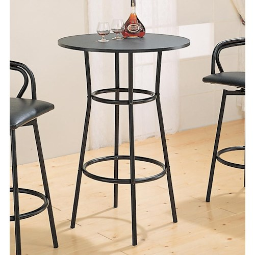 Coaster Dixie Round Bar Table