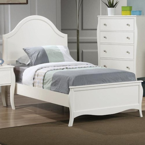 Coaster Dominique Full Youth Bed Dream Home Furniture Panel Beds Roswell Kennesaw