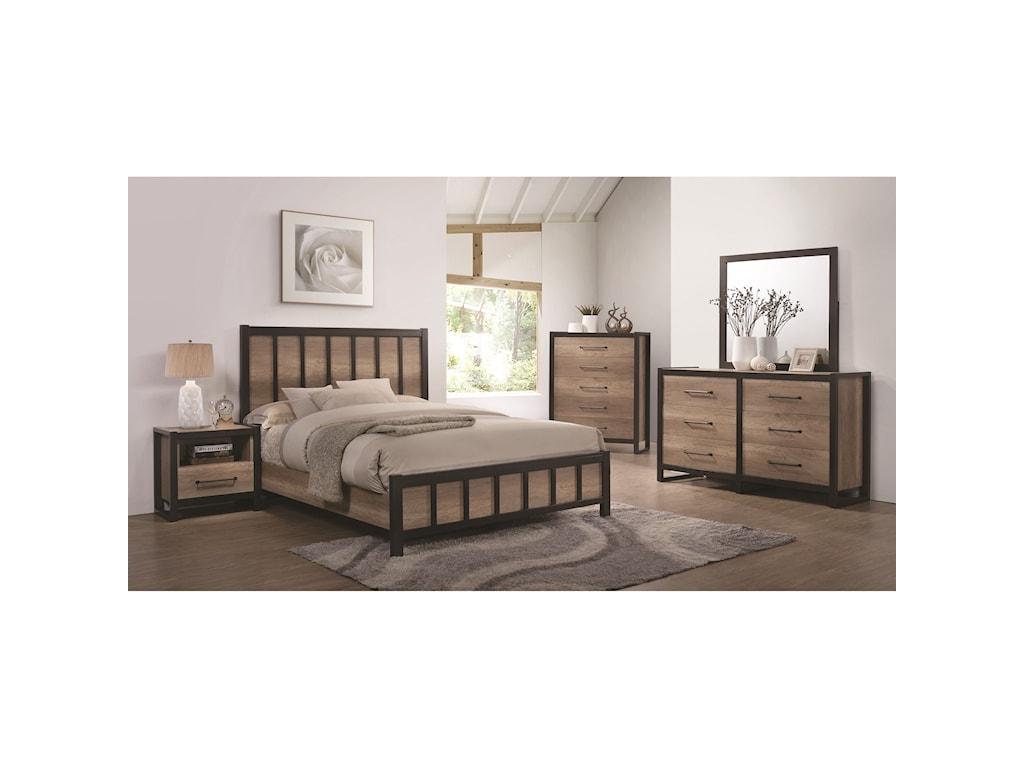 Coaster EdgewaterQueen Bedroom Group