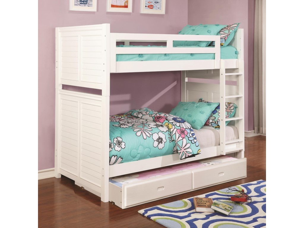 Coaster EdithTwin over Twin Bunk Bed
