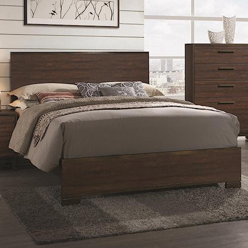 Coaster Edmonton California King Bed with Wood Headboard