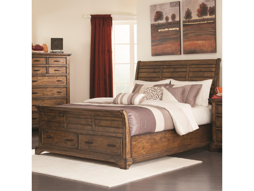 Rooms Collection Two Elk GroveQueen Sleigh Bed
