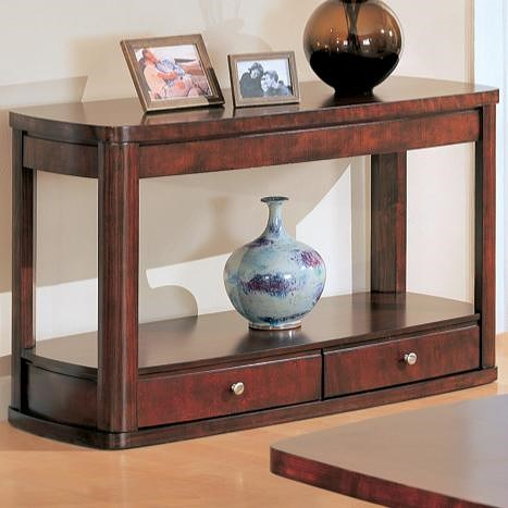 Coaster Evans Contemporary Sofa Table with Storage