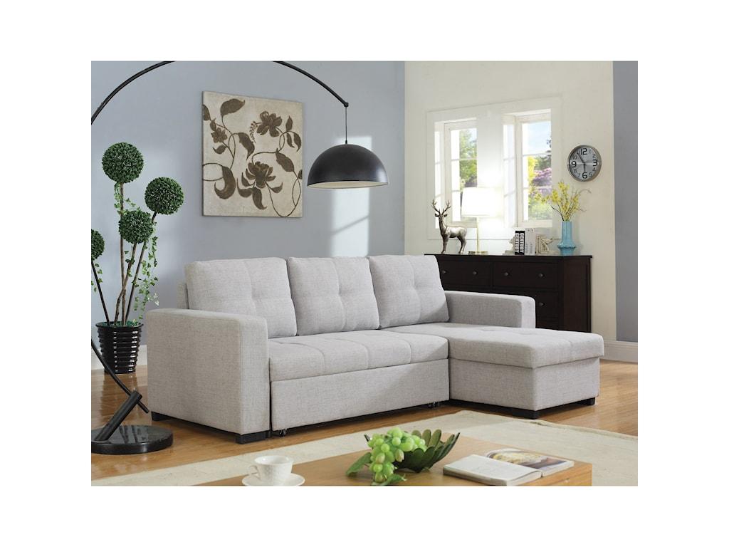 Coaster EverlySectional Sofa