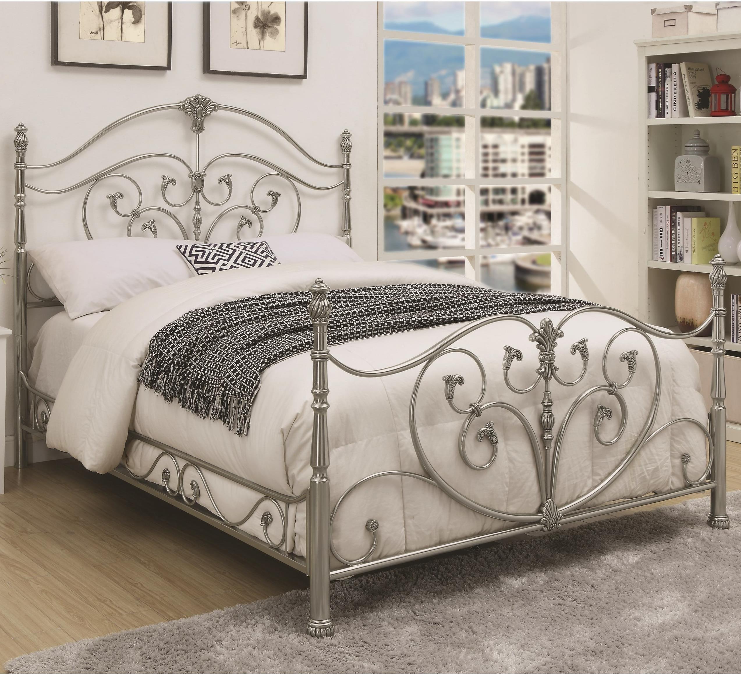 Coaster EvitaQueen Metal Bed