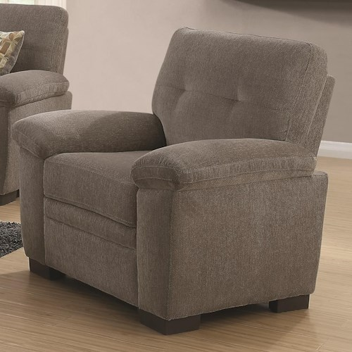 Coaster Fairbairn Chair with Casual Style