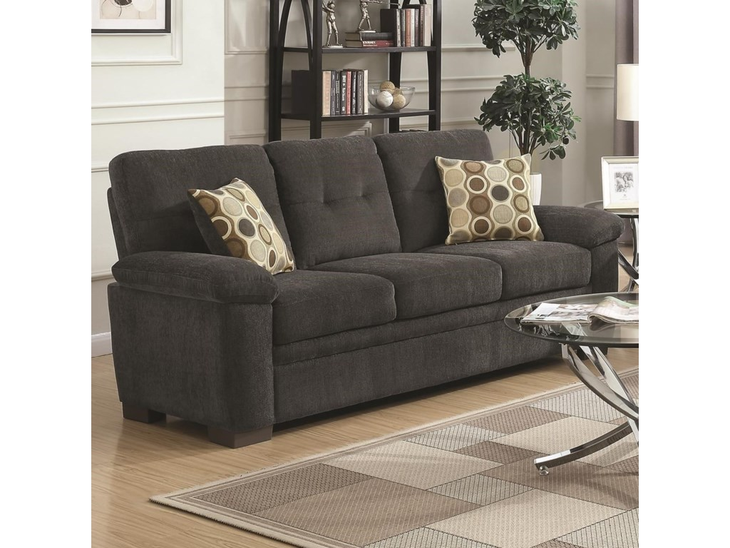 Fairbairn Sofa with Casual Style by Coaster at Value City Furniture