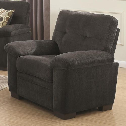Coaster Fairbairn Chair with Casual Style