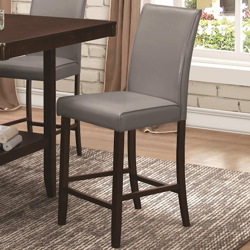 Coaster Fattori Upholstered Counter Height Chair