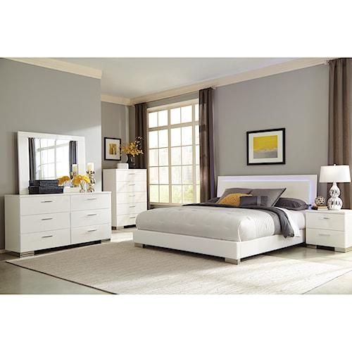 Coaster Felicity Queen Bedroom Group