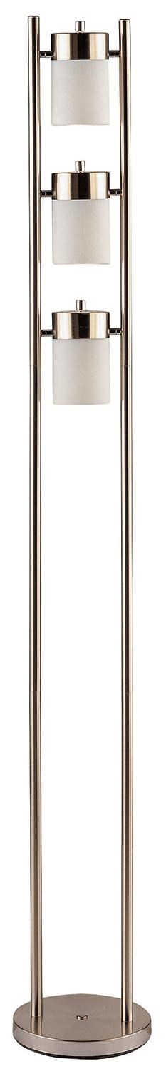 Coaster Floor Lamps Contemporary Floor Lamp with 3 Swivel Lights ...
