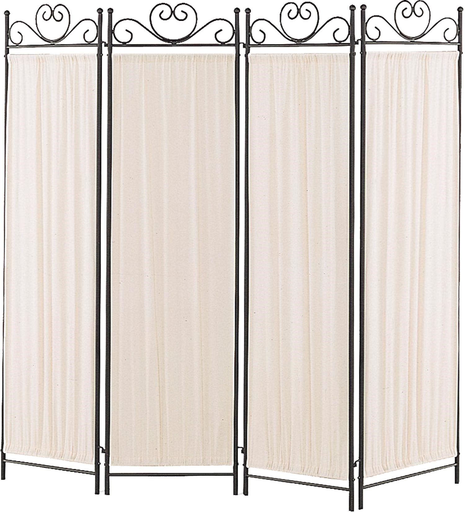 Standard Furniture Birmingham Al By Coaster Folding Screens Four Panel  Screen With Metal Frame