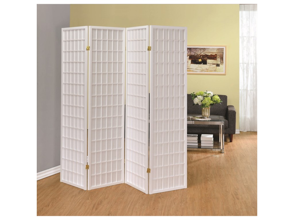Coaster Folding ScreensFour Panel Folding Screen