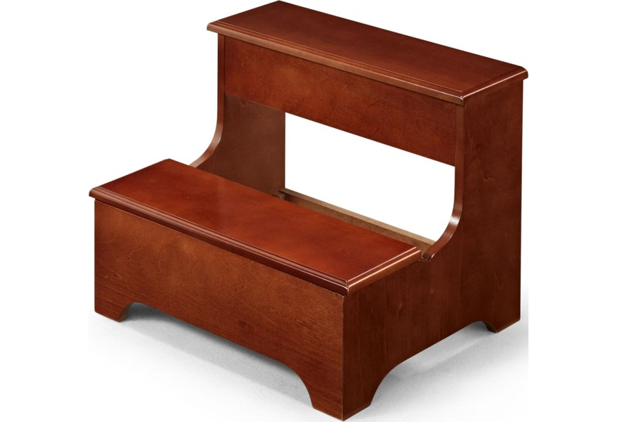 Coaster Foot Stools Traditional Wood Step Stool Bench With Lower Lift Top Storage Value City Furniture Miscellaneous Accessories