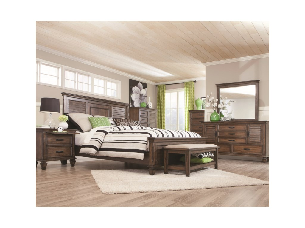 Coaster FrancoCalifornia King Bedroom Group