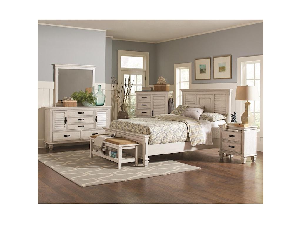 Coaster FrancoQueen Bedroom Group