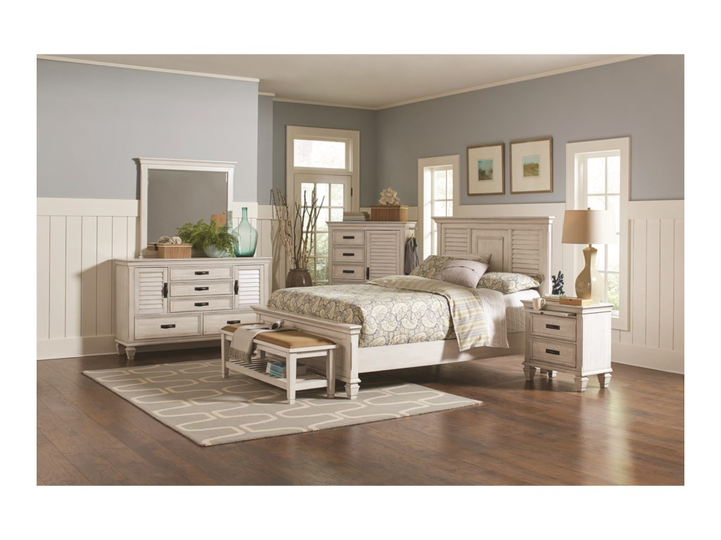 Coaster FrancoQueen Bedroom Group