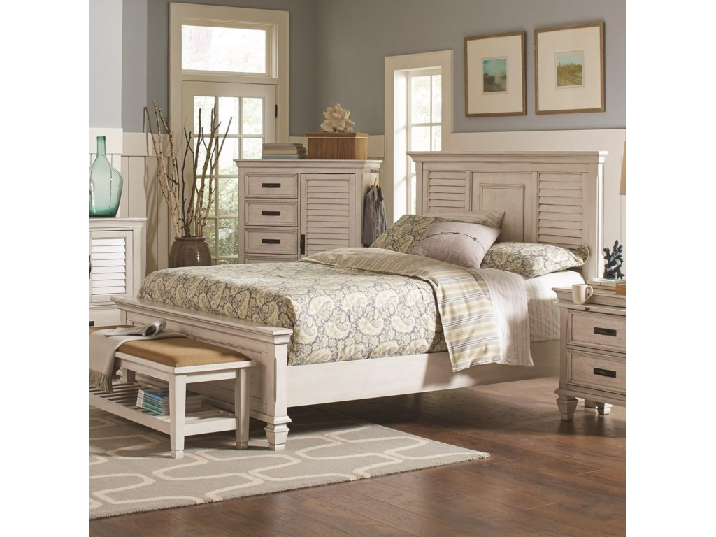 Coaster FrancoCalifornia King Bed