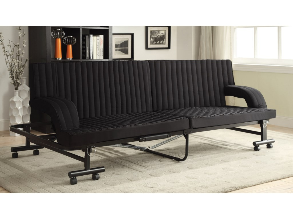 Coaster Futonsblack Sofa Bed