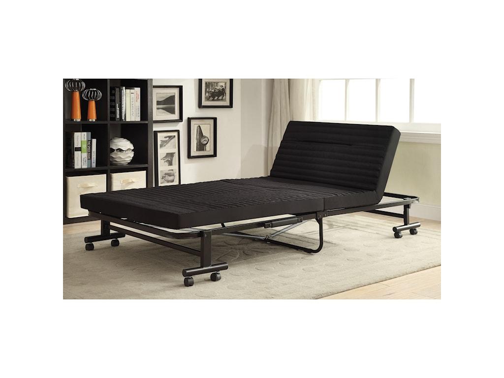 Coaster FutonsBlack Sofa Bed