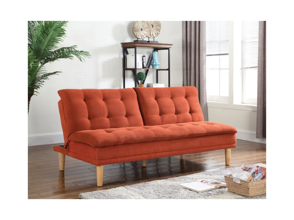 Coaster Futons Sofa Bed With On Tufting Miskelly Furniture