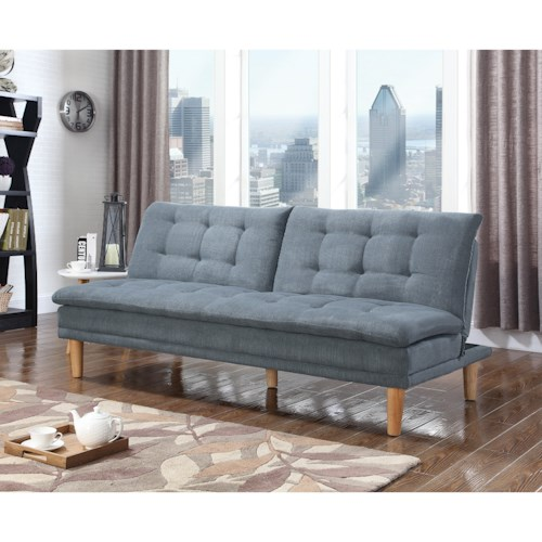 Coaster Futons Sofa Bed With On Tufting