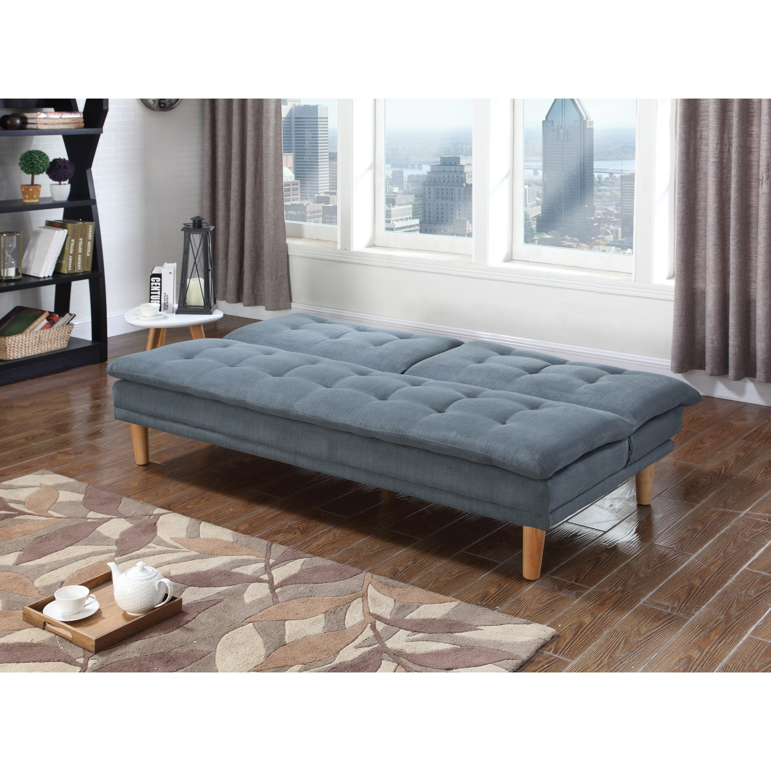 coaster futons sofa bed with button tufting coaster futons sofa bed with button tufting   miskelly furniture      rh   miskellys