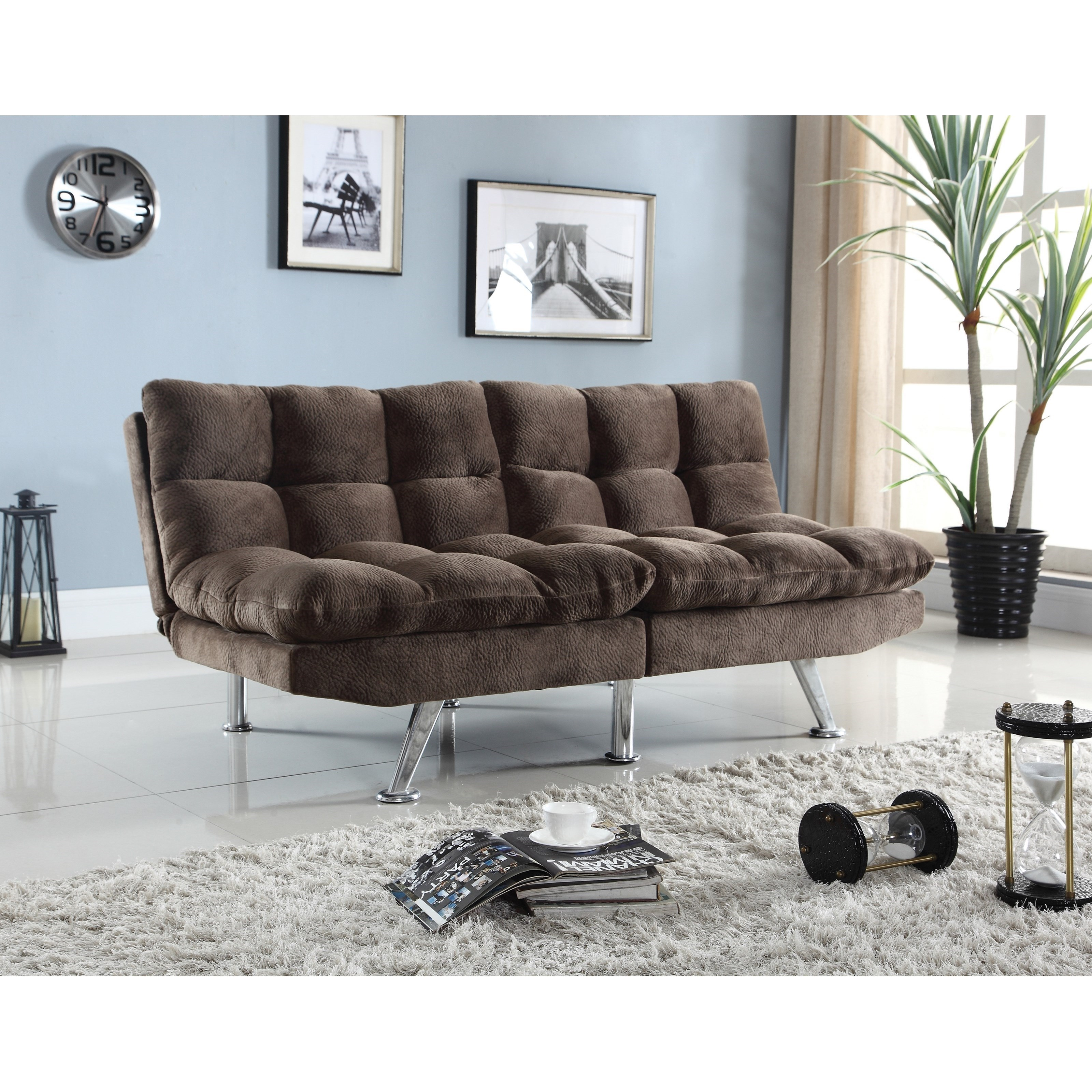 coaster futons plush sofa bed with padded velvet coaster futons plush sofa bed with padded velvet   standard      rh   standardfurniture