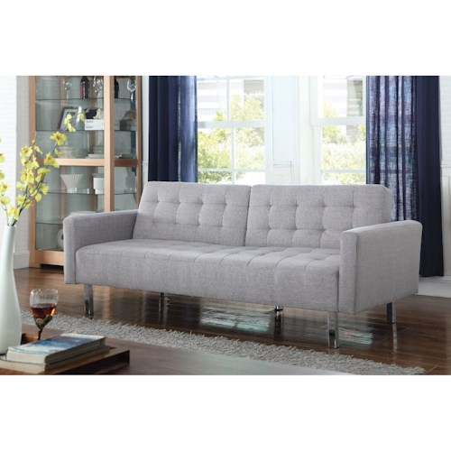 Coaster Futons On Tufted Sofa Bed