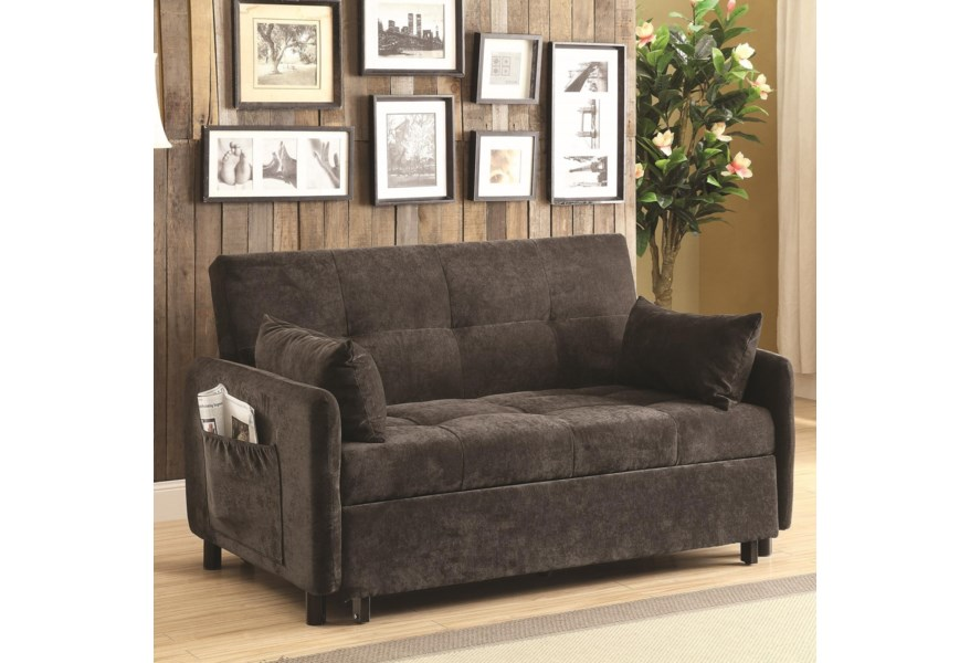 Coaster Futons 551075 Sofa Bed