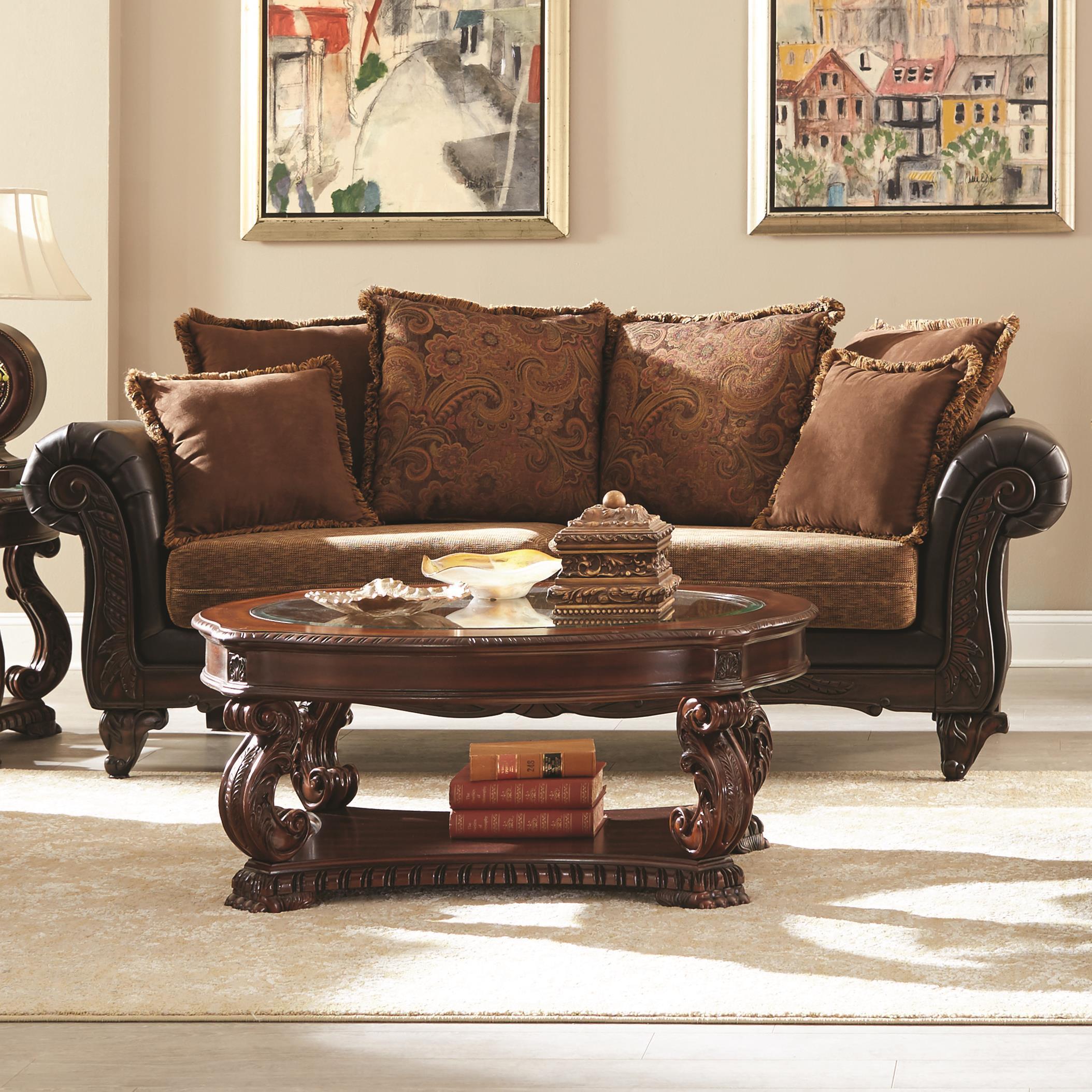 Coaster Garroway Traditional Sofa