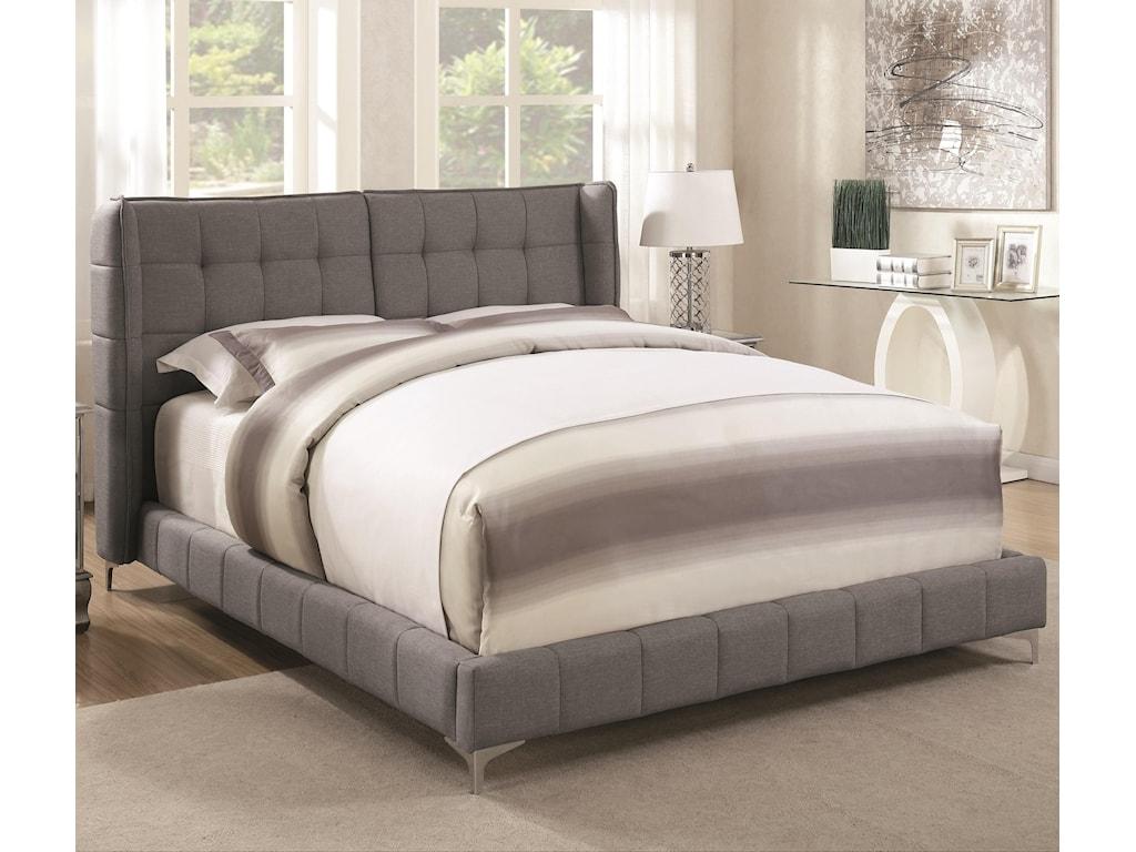 Coaster GoletaKing Upholstered Bed