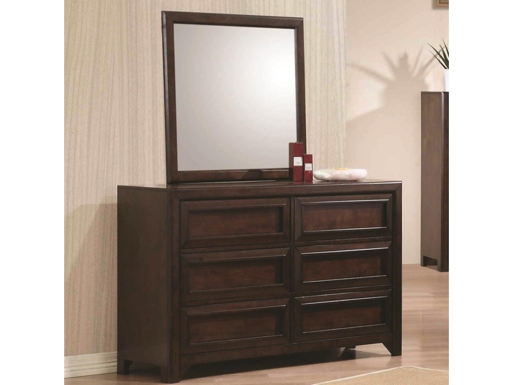 Coaster GreenoughDresser and Mirror