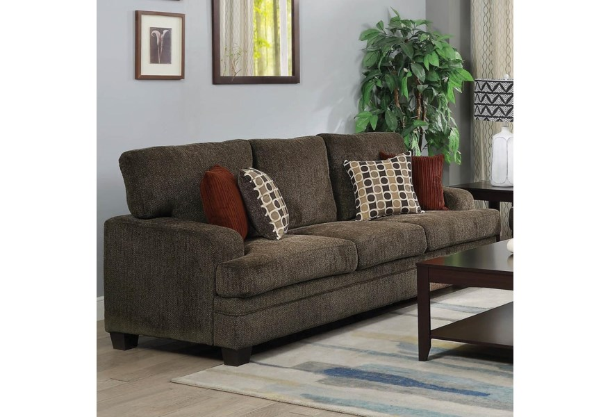 Coaster Griffin 508381 Casual Sofa With