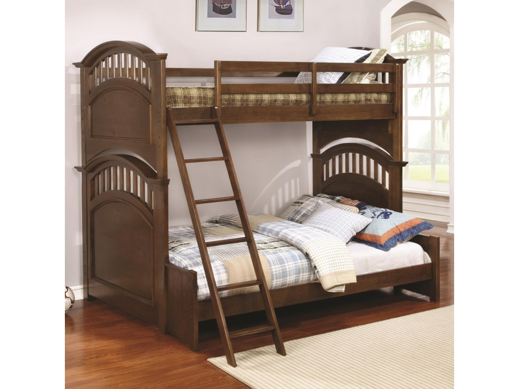 Coaster HalstedTwin over Full Bunk Bed