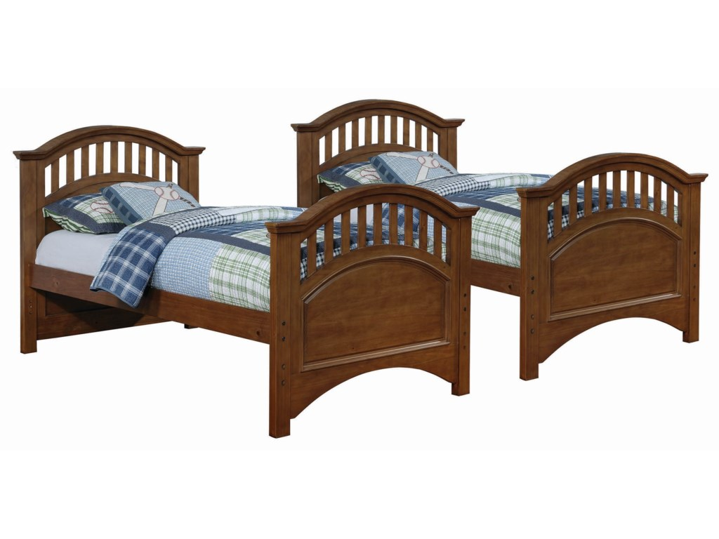 Coaster HalstedTwin over Twin Bunk Bed w/ Storage Trundle
