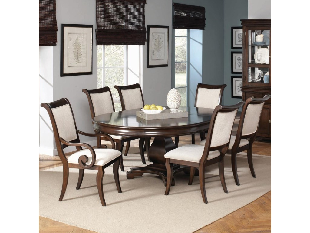 Shown with Table and Side Chairs