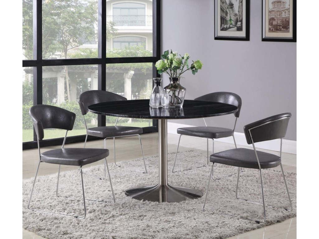 Coaster Healy5-Piece Dining Table Set
