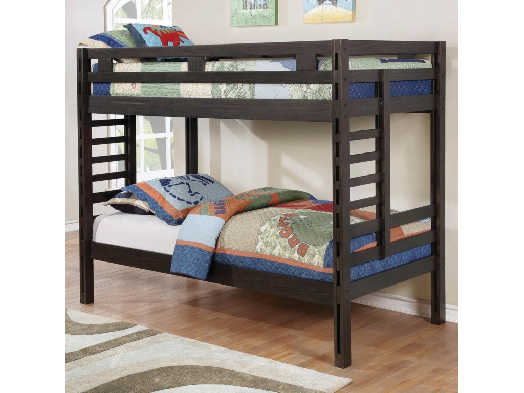Coaster HilshireTwin/Twin Bunk Bed