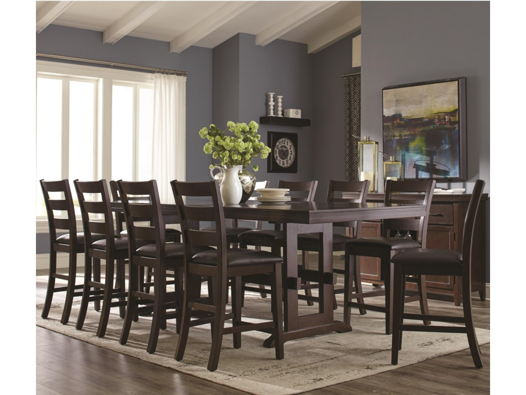 Holbrook 11 Piece Table And Chair Set