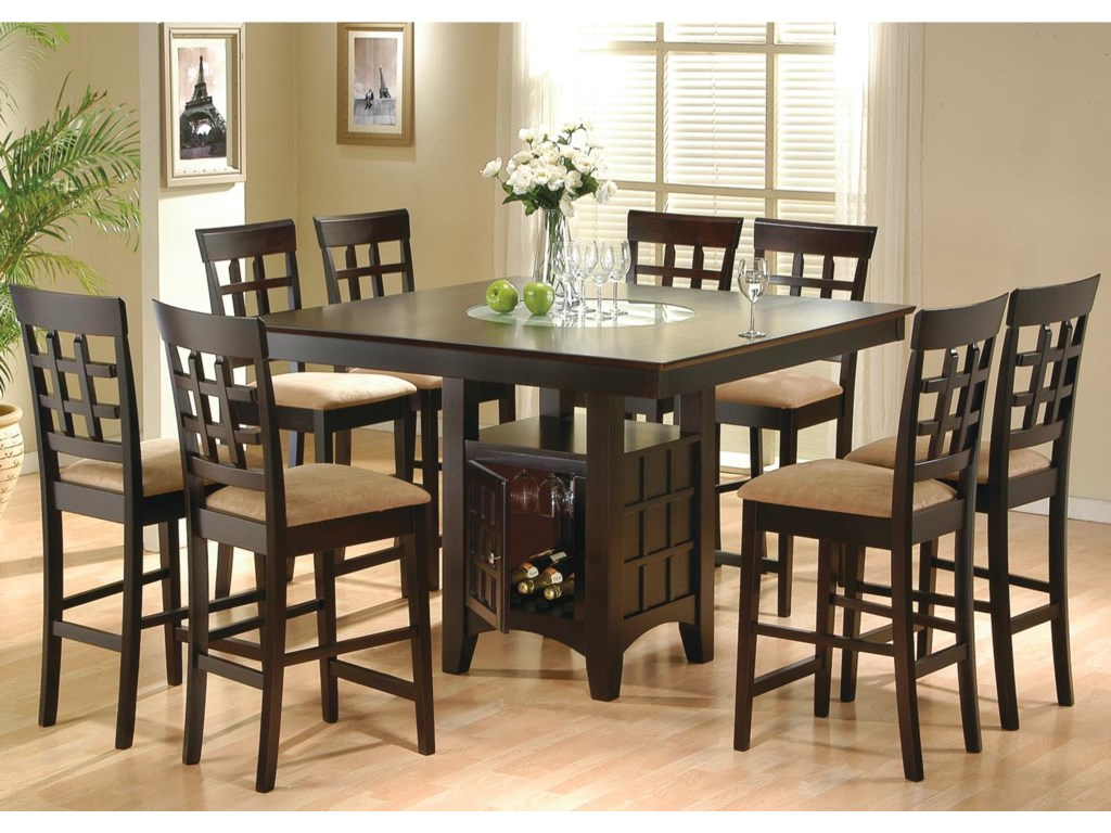 Coaster Mix & Match9 Piece Counter Height Dining Set