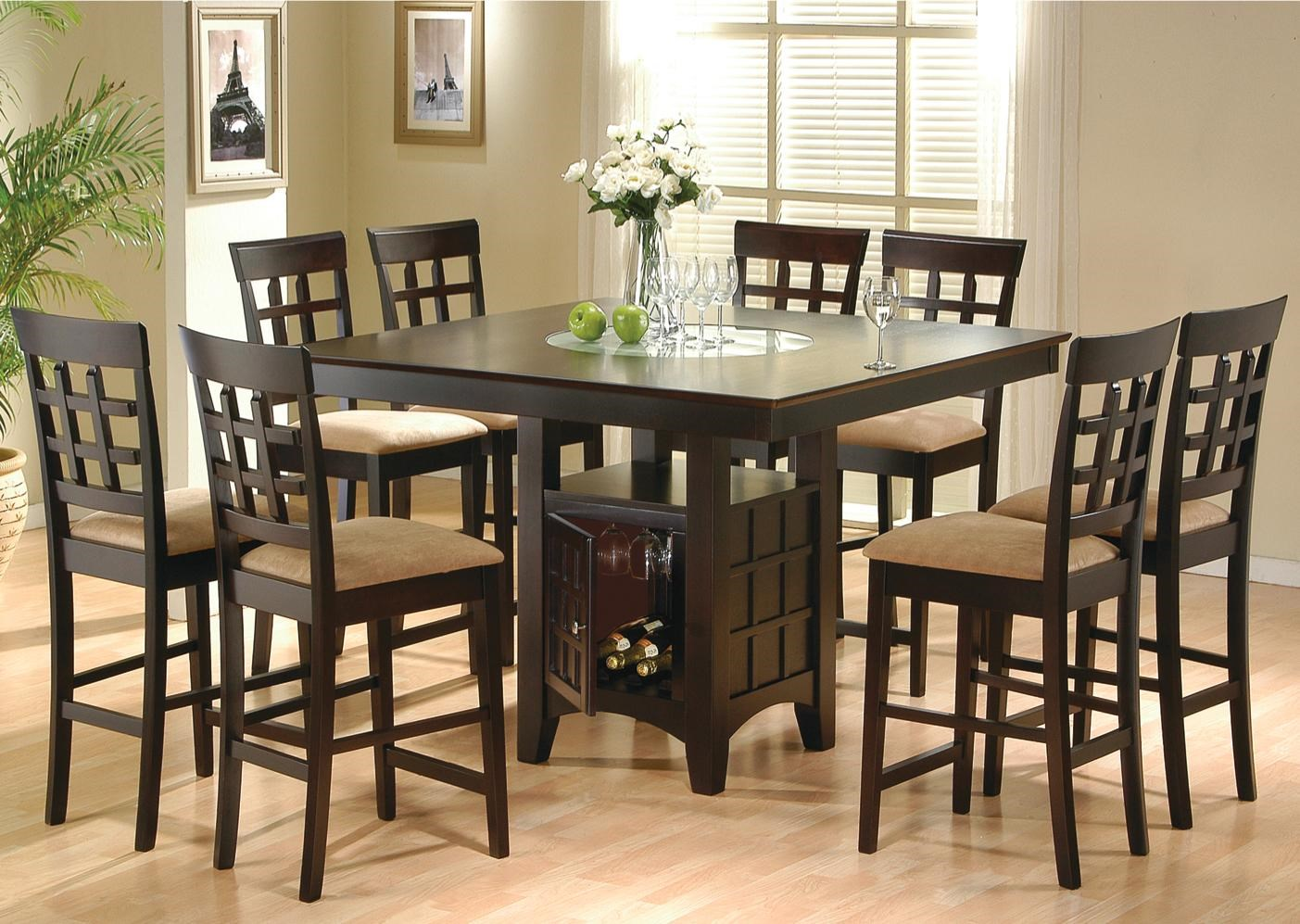 Coaster Mix U0026 Match9 Piece Counter Height Dining Set ...