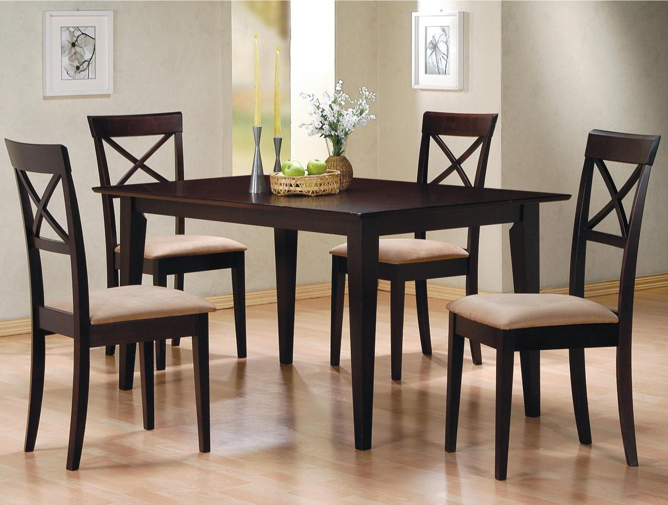 Coaster Mix U0026 Match 5 Piece Dining Set