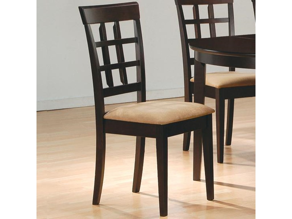 Coaster Mix & MatchWheat Back Chair