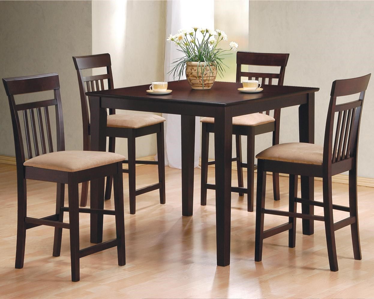 Delicieux Mix U0026 Match 5 Piece Counter Height Dining Set By Coaster
