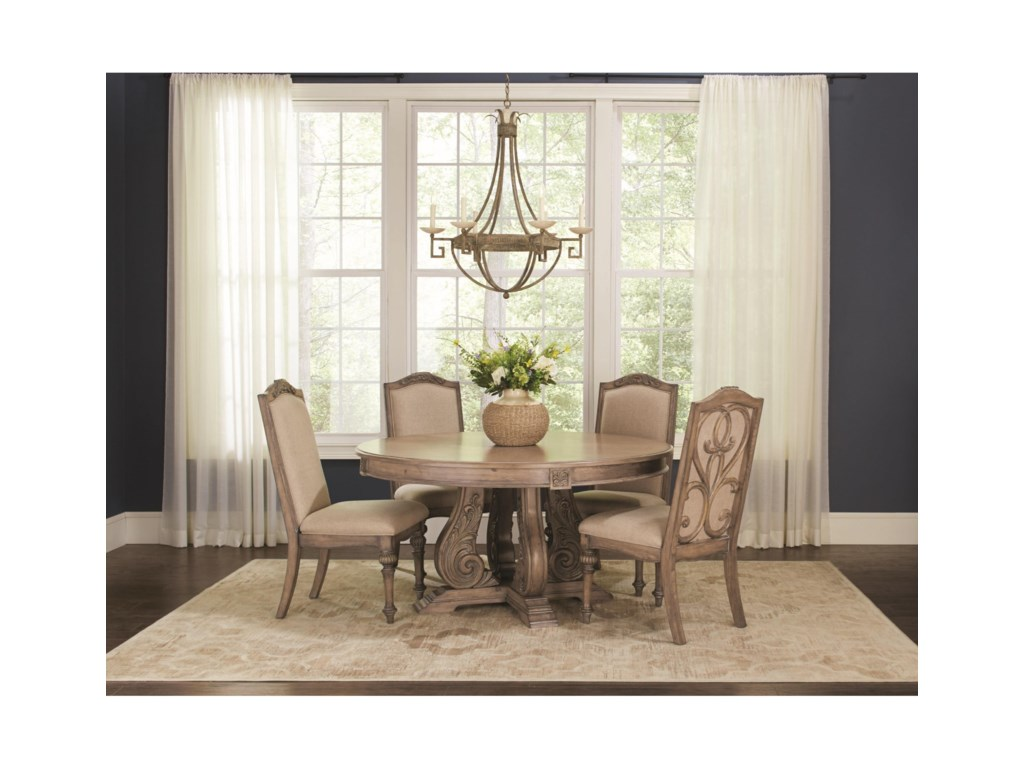 Rooms Collection Two IlanaRound Dining Table