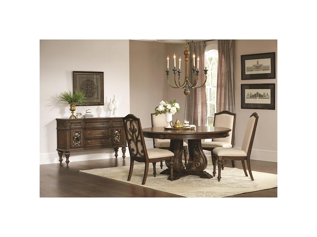Coaster Ilana Round Dining Table