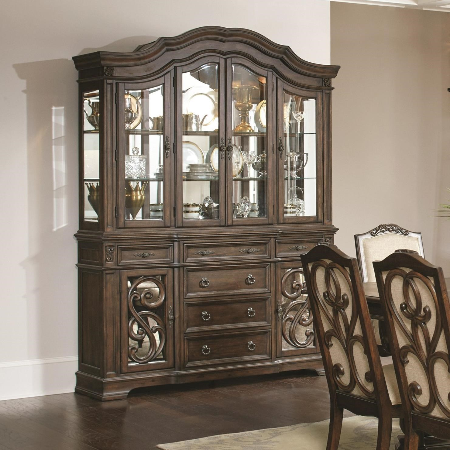 Incroyable Coaster Ilana China Cabinet ...