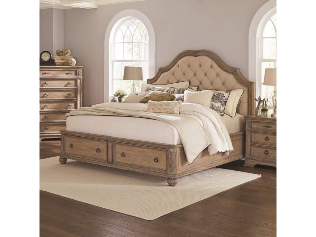 Coaster IlanaQueen Storage Bed