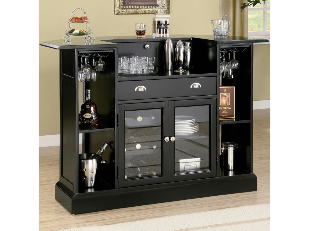 Back of Bar Unit Shown